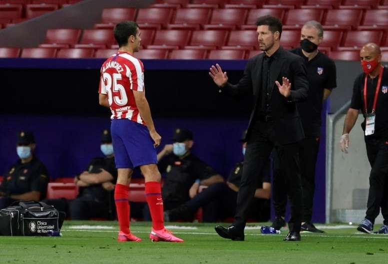 Manu Sánchez fue titular ante el Getafe y ahora volverá al B. EFE/Archivo