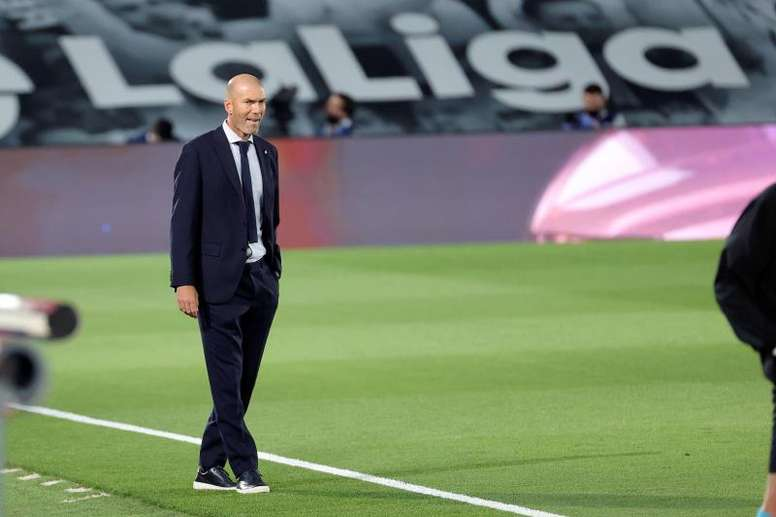 Zidane parla del suo futuro. EFE