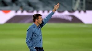 Técnico do Valencia não pensa em se demitir. EFE/JuanJo Martín