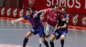 Inter y Valdepeñas se jugarán el título en Málaga. EFE/Carlos Díaz
