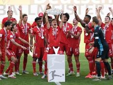 El Bayern se proclamó, un año más, campeón de la Bundesliga. EFE/EPA