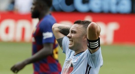 Iago Aspas raconte une discussion avec Vidal. EFE