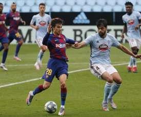 Gattuso habló de Riqui Puig y Fabián Ruiz. EFE