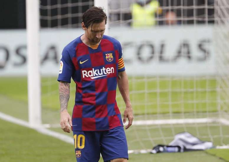 Lionel Messi's Barcelona side may be heading for a transition period. EFE