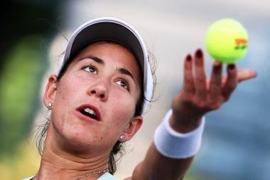 La tenista Garbiñe Muguruza. EFE//EPA/ALI HAIDER