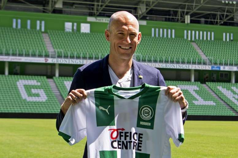 As primeiras palavras de Robben sobre sua volta ao futebol. EFE