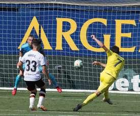Gerard hizo el segundo, tras una asistencia descomunal de Cazorla. EFE