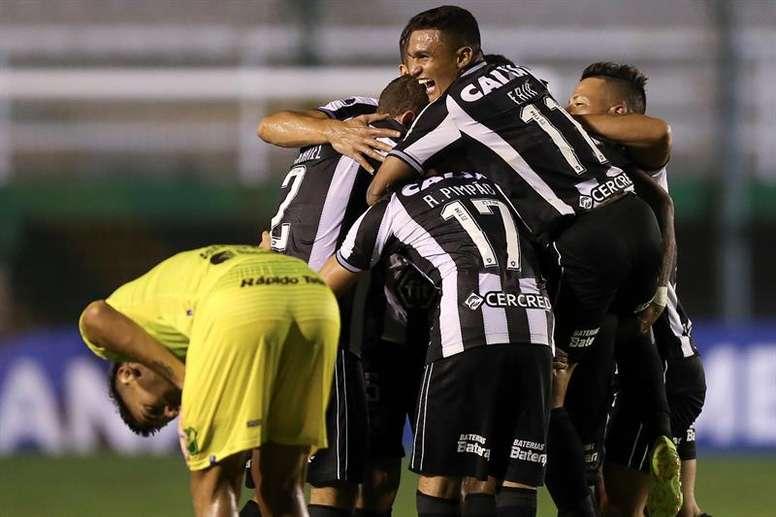 Botafogo anunció dos casos de coronavirus en su plantilla. EFE