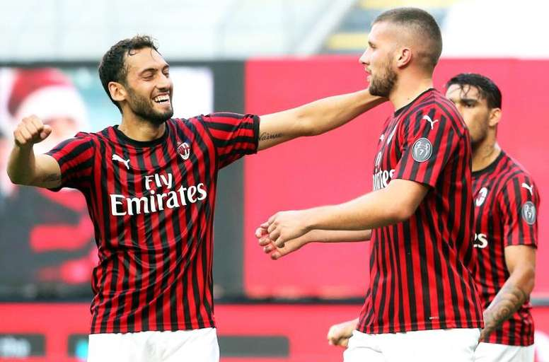 Il Milan supera la Roma. EFE