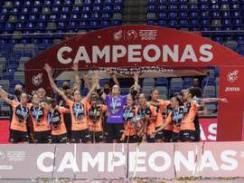 El Burela se consagra y gana la Liga. EFE/Carlos Díaz