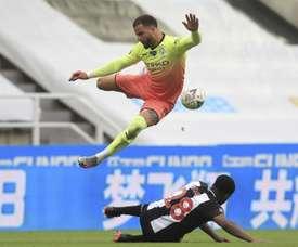 El City no falló y también peleará por la FA Cup. EFE