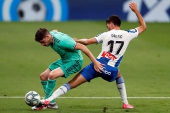 El Espanyol y el Real Madrid volverán a enfrentarse tras el regreso de los 'pericos' a la élite. EFE