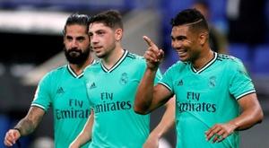 Casemiro se confie sur son avenir à Madrid. EFE
