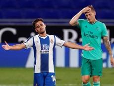 El Espanyol puso en apuros relativos al Real Madrid. EFE