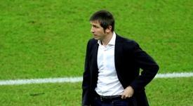 O técnico Albert Celades foi demitido. EFE/Juanjo Martín