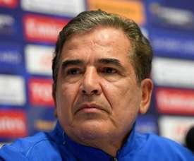 Jorge Luis Pinto, nuevo seleccionador de los Emiratos Árabes. EFE