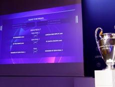 Los sorteos de Champions y Europa League, el 10 de julio. EFE/Archivo