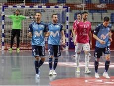 Movistar Inter, campeón de la LNFS. EFE