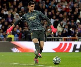 Courtois could go down in history. EFE