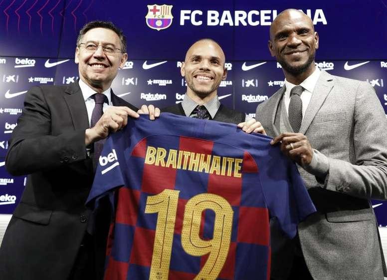 Braithwaite se irá del Barça pronto. EFE