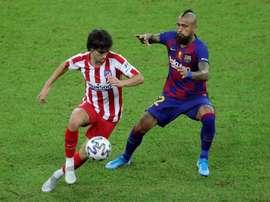Joao Felix has still adapted to Atletico Madrid. EFE