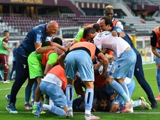 La Lazio remontó para seguir con vida en el 'Calcio'. EFE