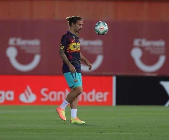 Griezmann é dúvida para as últimas rodada da Liga. EFE