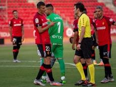 Budimir no jugará la próxima jornada por sanción. EFE
