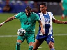 Benzema ha dado un paso al frente desde que no está Cristiano. EFE