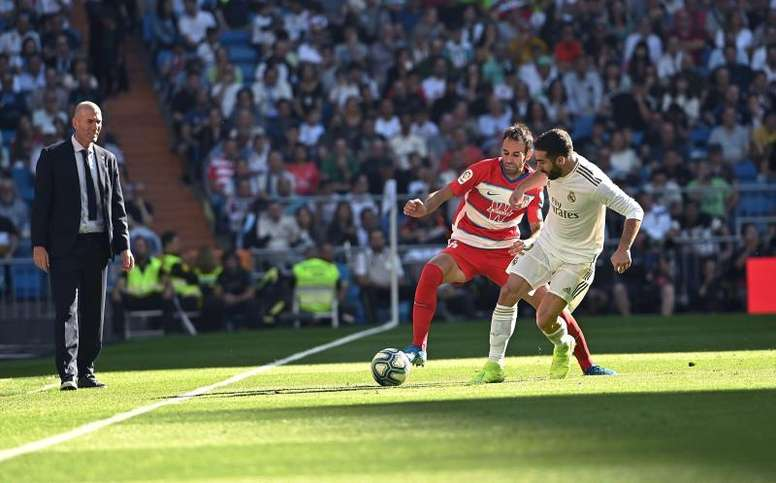 Granada-Real Madrid: probable lineups. EFE