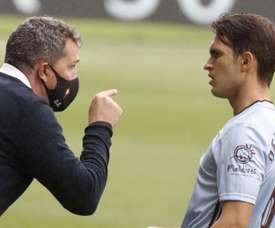 Denis Suárez dice adiós a lo que queda de temporada. EFE