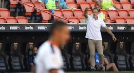 Voro ve muy enchufado al Valencia en esta recta final. EFE/Manuel Bruque