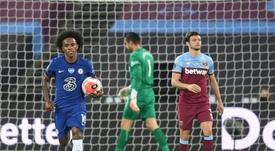 El West Ham respira y anima la Champions. EFE