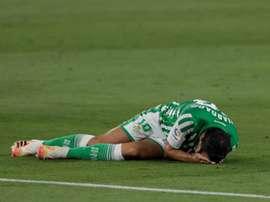 El Betis cayó ante el Villarreal por 0-2. EFE/Archivo