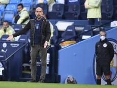 Lillo trabajará al lado de Guardiola en la próxima temporada. EFE/EPA