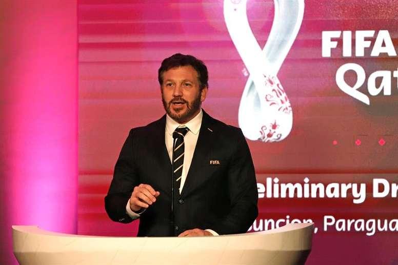 Alejandro Domínguez dio su parecer. EFE