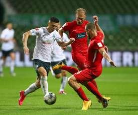Empate entre el Werder Bremen y el Heidenheim. EFE