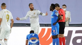 Il Real Madrid supera il Getafe. AFP