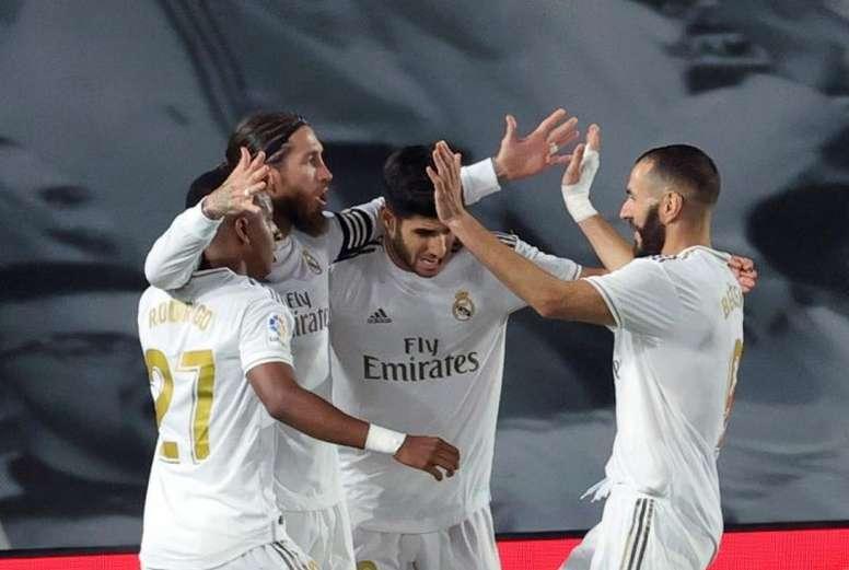 Ramos metió un gol decisivo para el título liguero. EFE