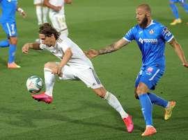 Modric está sendo bem administrado por Zidane. EFE/JuanJo Martín