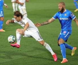 Modric falou sobre o título do Real Madrid. EFE