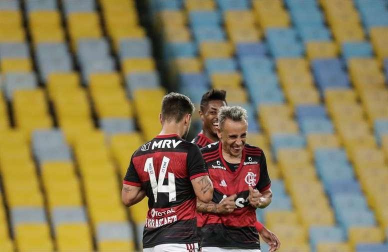 Flamengo despertou polêmica envolvendo transmissões de jogos. EFE/Antonio Lacerda