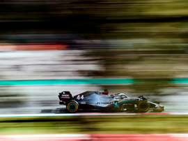 El piloto británico de Mercedes, Lewis Hamilton. EFE/Alejandro García/Archivo