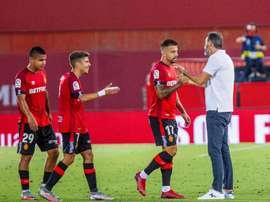 El Mallorca ha anunciado, como el Tenerife, un positivo en sus filas. EFE/Archivo