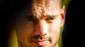 Sneijder pense à faire un comeback. EFE
