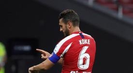 Koke ultrapassou Fernando Torres em jogos pelo Campeonato Espanhol. EFE/JuanJo Martín/Arquivo