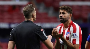 Diego Costa será baja ante Celta. EFE