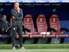 Garitano confía en sorprender al Real Madrid. EFE