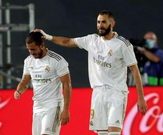 Hazard e Varane ficam de fora da partida contra o Athletic. EFE