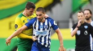El Brighton ha sumado tres puntos importantísimos por la permanencia. EFE/EPA